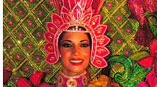 A queen in Panama's Carnivals